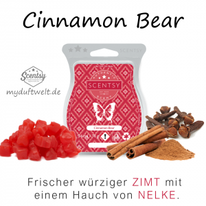 Cinnamon Bear Scentsy Bar