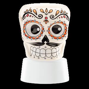 Sugar Skull Scentsy Miniduftlampe mit Unterteil