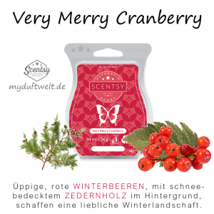 Very Merry Cranberry Scentsy Bar