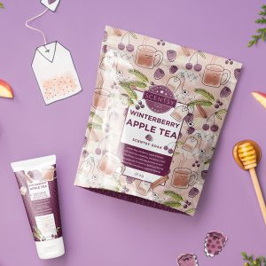 Winterberry Apple Tea Scentsy Badesalz