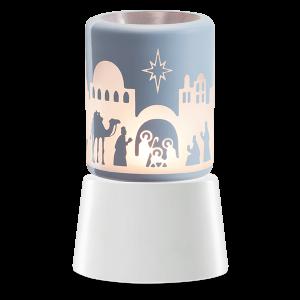 Holy Night Scentsy Miniduftlampe mit Unterteil