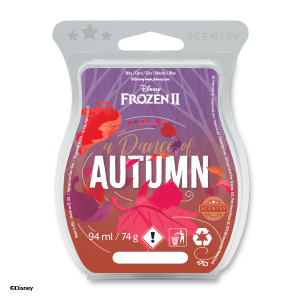 A Dance of Autumn Scentsy Bar