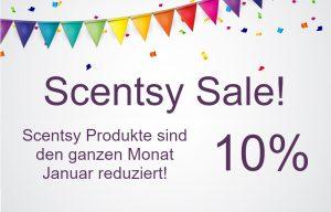 Scentsy 10% Sale Januar 2020