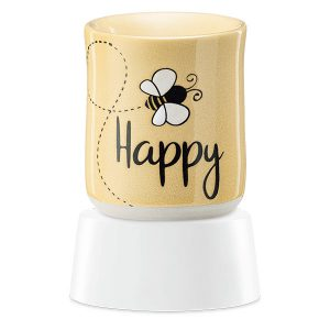 Bee Happy Scentsy Miniduftlampe mit Unterteil