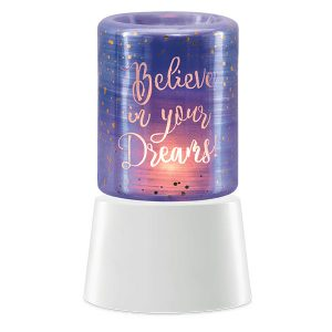 Believe in Your Dreams Scentsy Miniduftlampe mit Unterteil