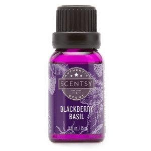 Blackberry Basil Scentsy Öl