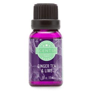 Ginger Tea & Lime Scentsy Öl