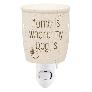 Home Is Where My Dog Is Scentsy Miniduftlampe