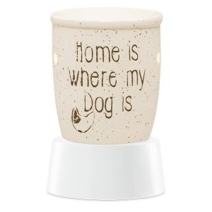 Home Is Where My Dog Is Scentsy Miniduftlampe mit Unterteil