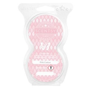 Pink Cotton Scentsy Pod
