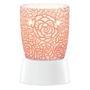 Rosie Scentsy Miniduftlampe mit Unterteil