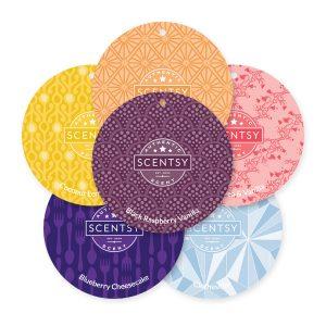6 Scent Circles Scentsy Set