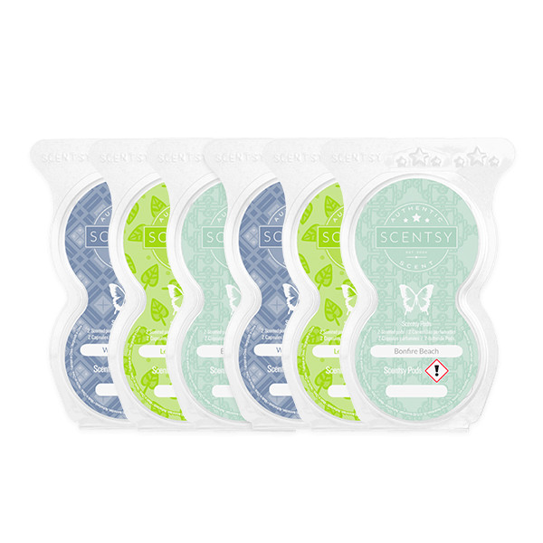 6 Scentsy Pods Scentsy Set