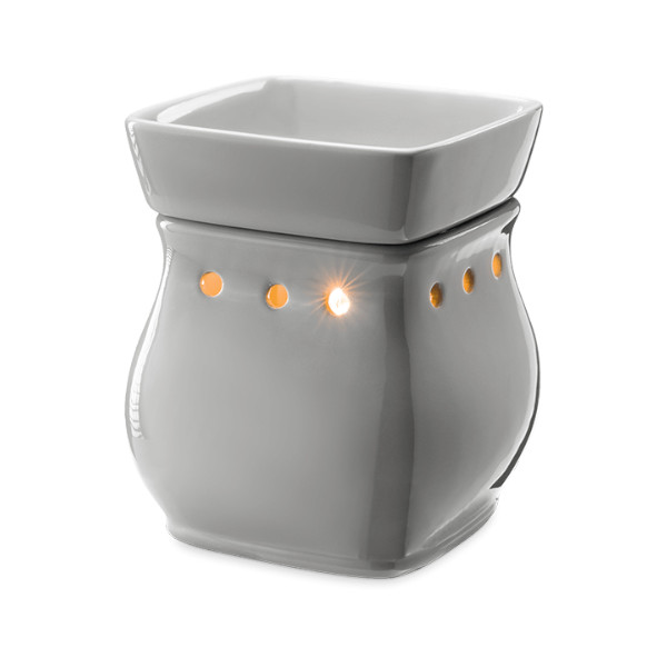Classic Curve Gloss Gray Scentsy Duftlampe