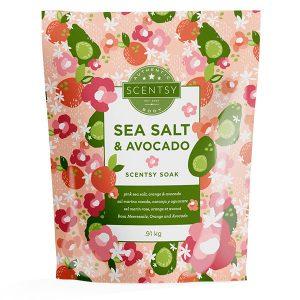 Sea Salt & Avocado Scentsy Badesalz
