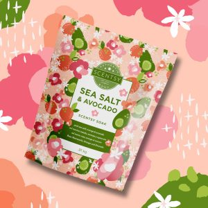Sea Salt & Avocado Scentsy Badesalz