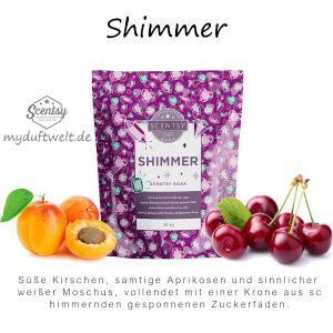 Shimmer Scentsy Badesalz