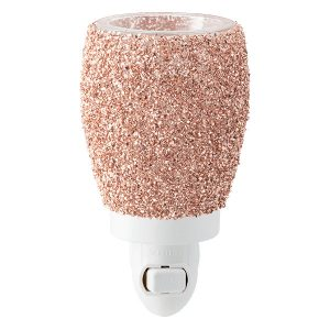 Glitter Rose Gold Scentsy Miniduftlampe