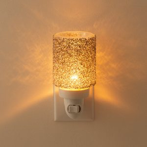 Glitter Silver Scentsy Miniduftlampe