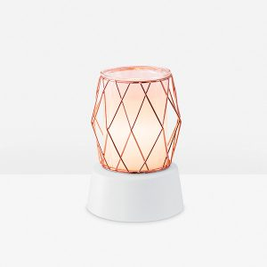 Wire You Blushing? Scentsy Miniduftlampe mit Unterteil