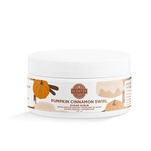 Pumpkin Cinnamon Swirl Zucker-Peeling