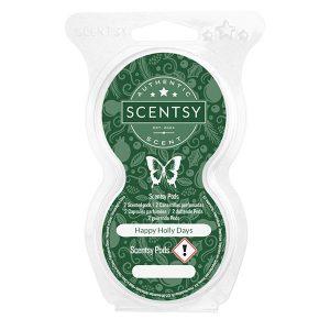 Happy Holly Days Scentsy Pod
