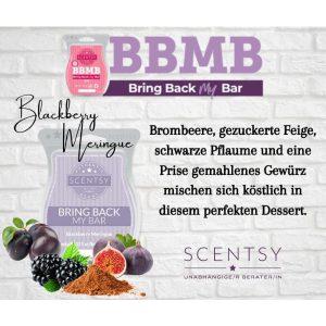Blackberry Meringue Scentsy Bar
