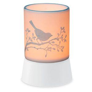 Bluebird Scentsy Miniduftlampe mit Unterteil