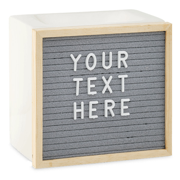 Letterboard Scentsy Duftlampe