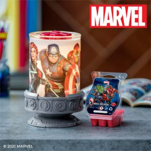 Marvel Scentsy Duftlampe