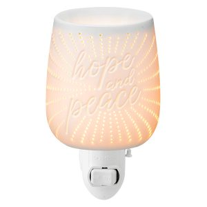 Hope and Peace Scentsy Miniduftlampe